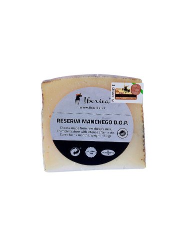 Ibericafood Reserva cured Manchego Cheese D.P.O.