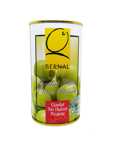 Pitted Spicy Gordal Olives