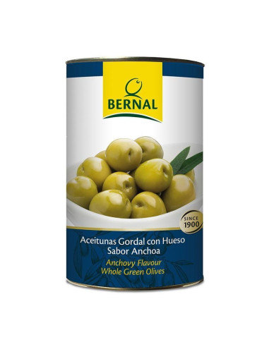 Stone-in Gordal Olives with Stone, Catering Size Tin