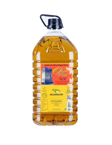 Picual Extra Virgin Olive Oil, Sierra de Cazorla, 5000ml