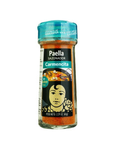 Carmencita Paellero Seasoning Mix, glass jar