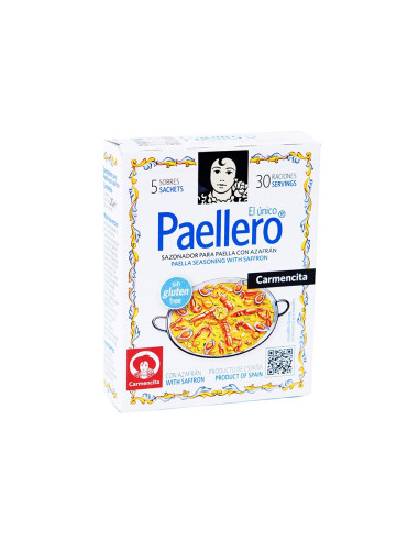 Paellero seasoning mix with saffron- Carmencita