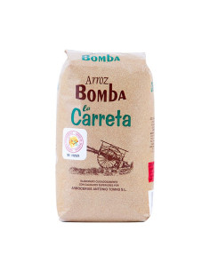 Bomba Rice La Carreta, 1kg Plastic Bag