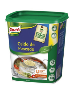 Knorr Fish Powder Stock 1kg plastic tub