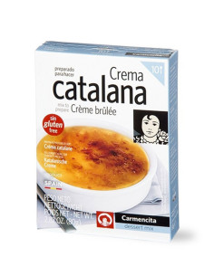 Crema Catalana, Creme Brulee mix, 10 servings