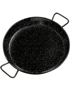 Enamelled Paella Pan, for induction hobs, 34cm