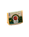 Goat's Cheese cured in Paprika and Olive Oil, 3 months old, pasteurised, 150g wedge