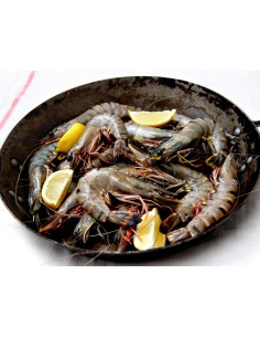 Raw Shell-on Prawns, 1kg