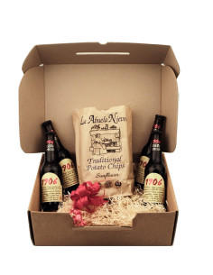 Beers And Crisps Hamper Gift Box