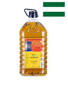 Picual Extra Virgin Olive Oil Sierra de Cazorla, 5000ml
