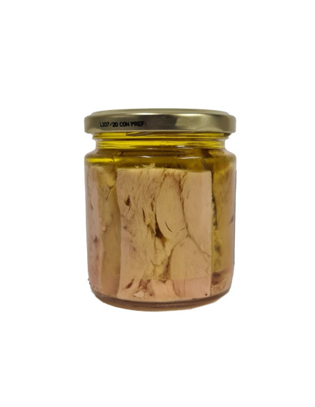 Bonito del Norte, White Tuna Loin Fillets in Olive Oil, 220g jar