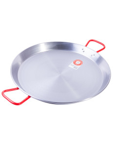 Polished Steel Paella Pan, for 2-3 people