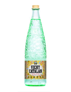 Vichy Catalan Spanish Mineral Sparkling Water 1L